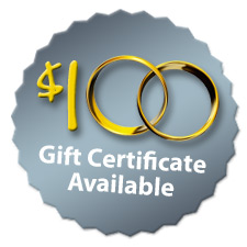 $100 Gift Certificate Available