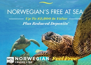 Book by 9.18.16 for the latest Free At Sea Endless Summer Spectacular promotion from Norwegian Cruise Line!