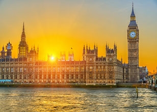 Spend 3 nights in London with included sightseeing then sail to Boston, New York & Bermuda.