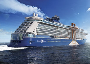 We are taking our annual anniversary cruise to the EDGE! The New Celebrity Edge that is.