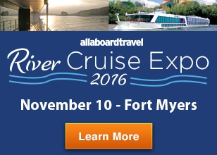 Come to the Crowne Plaza Fort Myers at Bell Tower Shops to learn more about River Cruising!