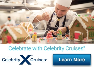 Celebrate the holidays on a Celebrity Cruise this year!