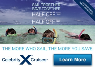 Book by October 31, 2016 to take advantage of this special offer from Celebrity Cruises.