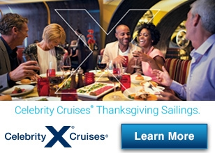This Thanksgiving, let the chefs of Celebrity Cruises take care of the cooking.