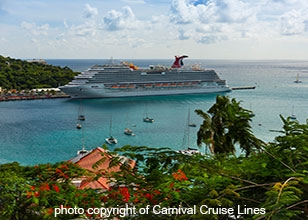 Search our value packages on select Carnival Cruise departures!