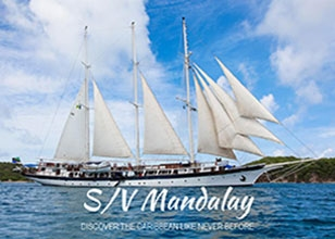 FLASH SALE! Up to $700p.p. Air Credit on S/V Mandalay on Sail Windjammer Sep. 17, 2017