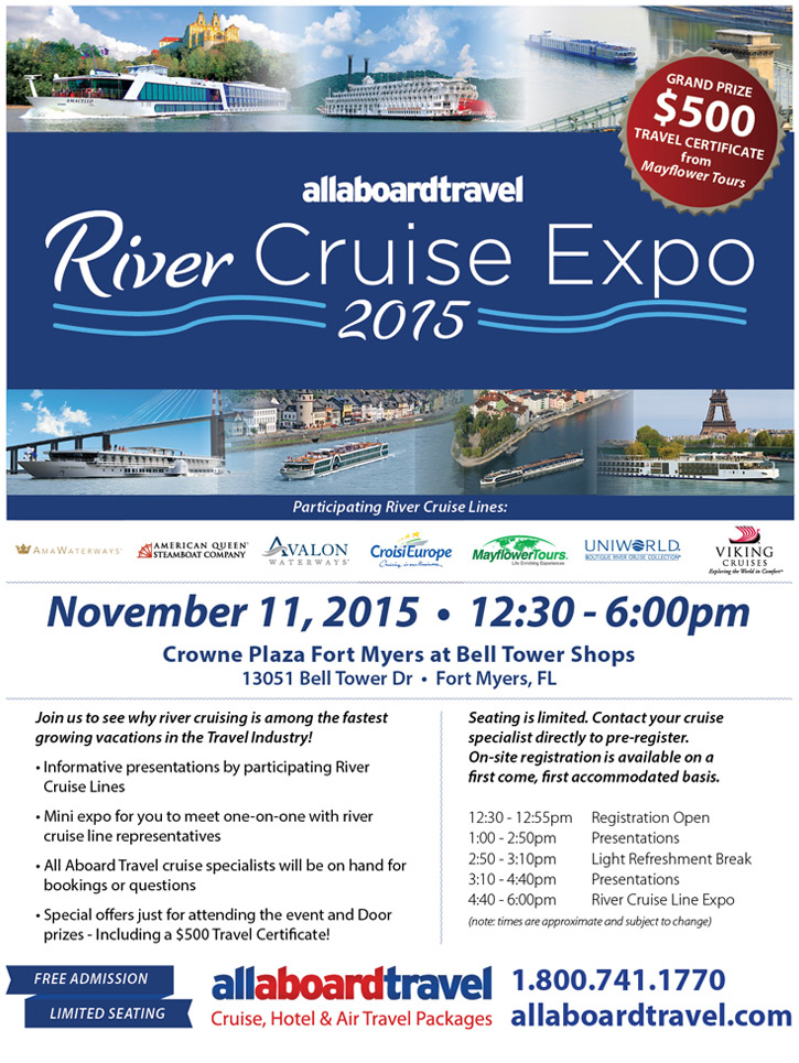 All Aboard Travel River Cruise Expo